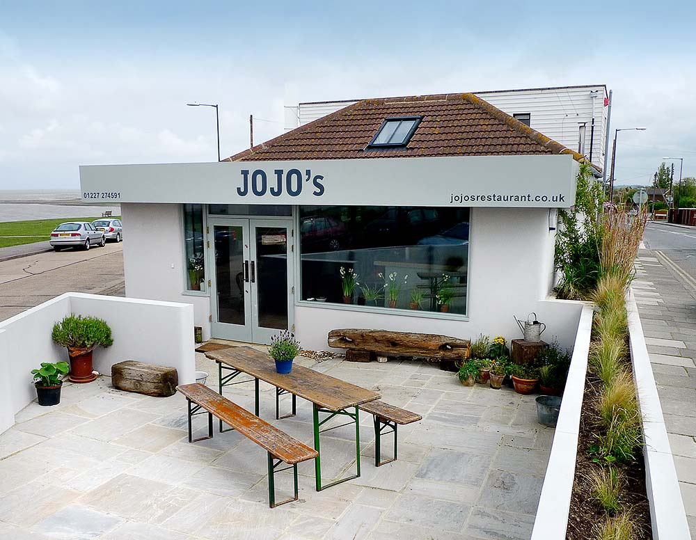 JoJo's Restaurant in Whitstable, Kent