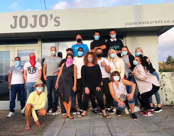 JoJo's Restaurant Team